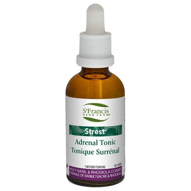 Strest Tincture - 100ml - St. Francis Herb Farm - Health & Body Nutrition
