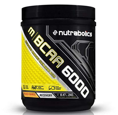 m|BCAA 6000 Peach Mango - 90 servings - 720g - Nutrabolics expires: Oct 2019 - Health & Body Nutrition