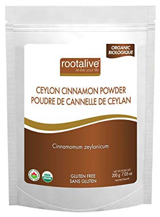 Organic Ceylon Cinnamon Powder - 200g - Rootalive - Health & Body Nutrition