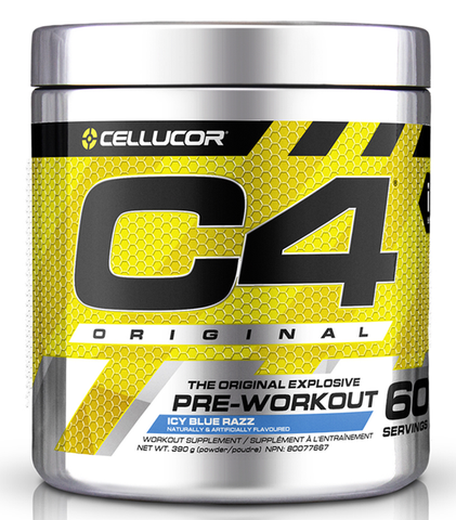 C4 Original Pre-Workout - 60servings - Cellucor - Health & Body Nutrition