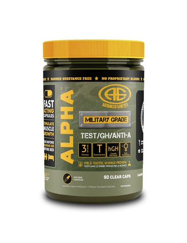 ALPHA-Test/GH/Anti-A - 90caps - Advanced Genetics - Health & Body Nutrition