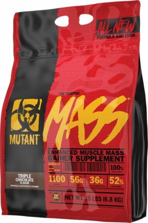 Muscle Mass Gainer - 15lbs - Mutant - Health & Body Nutrition