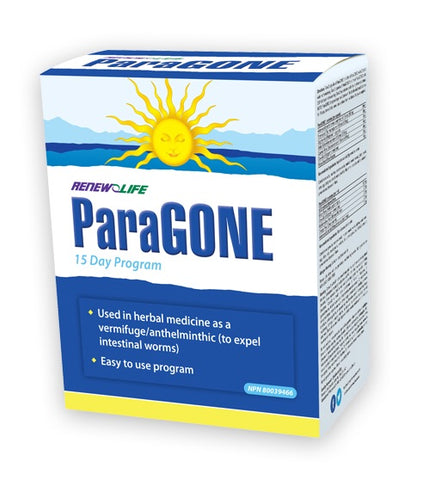 ParaGONE - 15days - Renew Life - Health & Body Nutrition