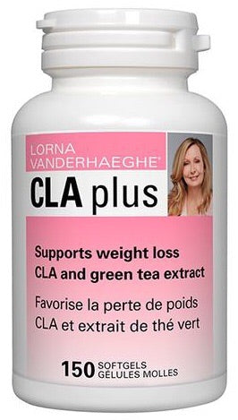 CLA PLUS 1000mg- 150 Softgels - Lorna Vanderhaeghe - Health & Body Nutrition