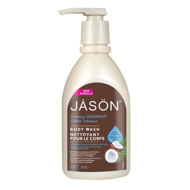 Body Wash -  Coconut - 887ml - Jason - Health & Body Nutrition