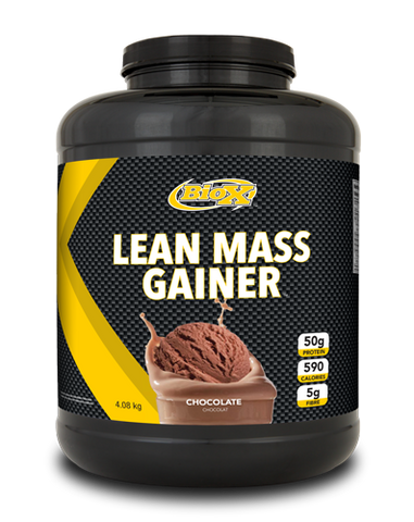 Lean Mass Gainer - 4kg - BioX - Health & Body Nutrition