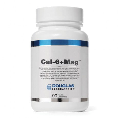 Cal-6+Mag - 90tabs - Douglas Labratories - Health & Body Nutrition