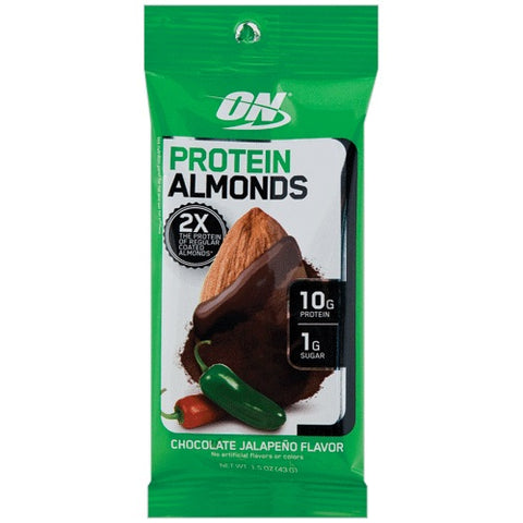 Protein Almonds Chocolate Jalapeño - 43g - Optimum Nutrition - Health & Body Nutrition
