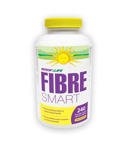 FibreSMART - 120vcaps - Renew Life - Health & Body Nutrition
