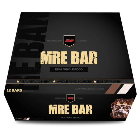 MRE BAR - German Chocolate Cake - 12bars - RedCon1 - Health & Body Nutrition