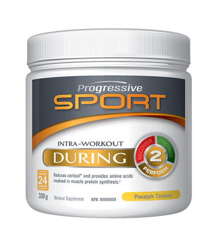 Intra-Workout During - Pineapple Coconut 330g - Progressive Sport - Health & Body Nutrition