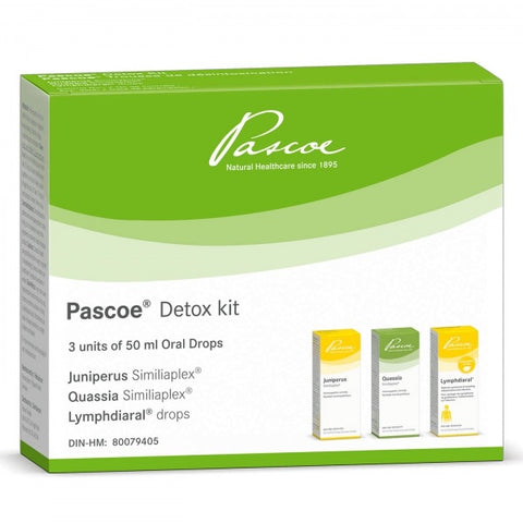 Pascoe Detox Kit - 50mL x 3 - Pascoe - Health & Body Nutrition