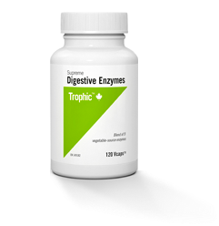 Supreme Digestive Enzymes - 60vcaps - Trophic - Health & Body Nutrition