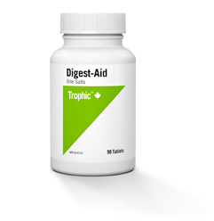 Digest Aid Bile Salts - 90tabs - Trophic - Health & Body Nutrition