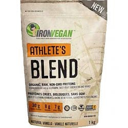 Athletes Blend - Vanilla 1kg - Iron Vegan - Health & Body Nutrition