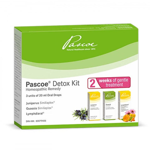 Pascoe Detox Kit - 20ml x 3 - Pascoe - Health & Body Nutrition