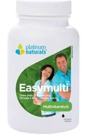Easymulti - 120gels - Platinum Naturals - Health & Body Nutrition