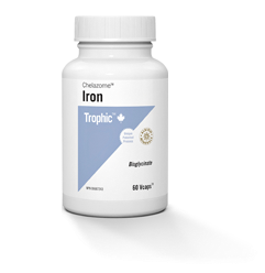 Iron Chelazome 125mg - 90vcaps - Trophic - Health & Body Nutrition