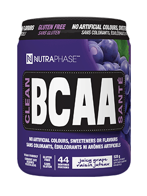 Clean BCAA - Grape Flavour 528g - Nutraphase - Health & Body Nutrition