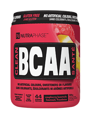 Clean BCAA - Raspberry Lemonade Flavour 528g - Nutraphase - Health & Body Nutrition