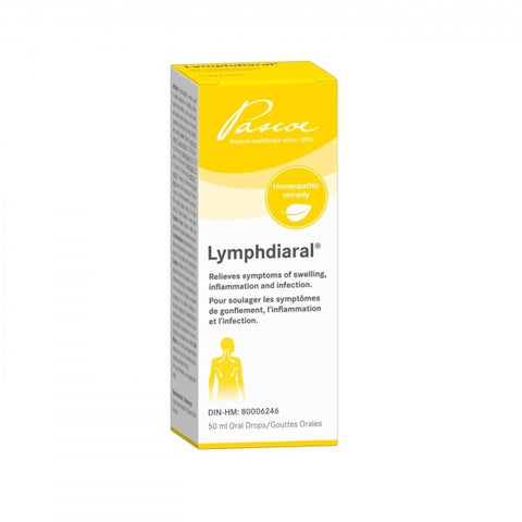 Lymphdiaral Drops - 50ml - Pascoe - Health & Body Nutrition