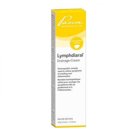 Lymphdiaral Drainage Cream - 40g - Pascoe - Health & Body Nutrition