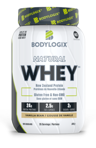 Natural New Zealand Whey - Vanilla Bean 840g - Bodylogix - Health & Body Nutrition