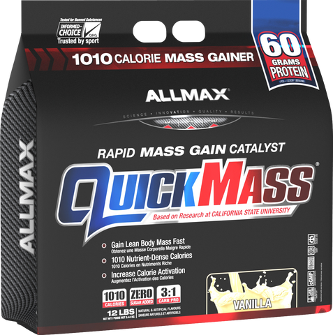 Quickmass Loaded 12lb -Allmax Nutrition - Health & Body Nutrition
