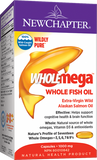 Wholemega™ Whole Fish Oil - 120 softgels  - New Chapter - Health & Body Nutrition