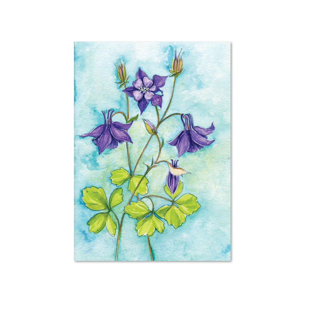 Columbine (Abundance) Original Painting