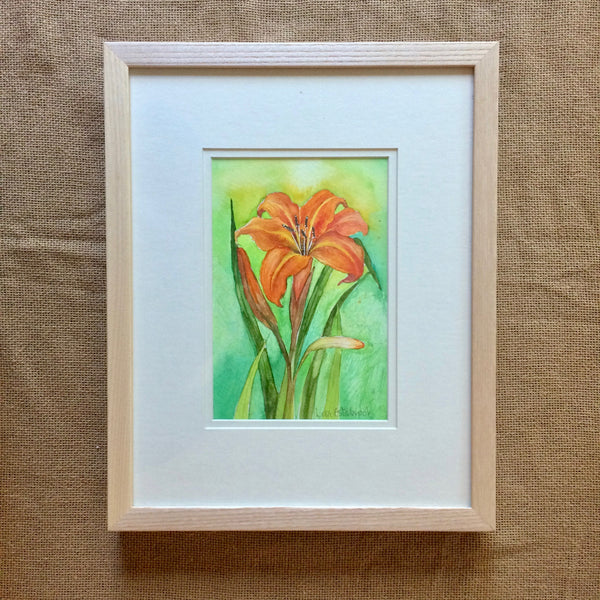 Daylily (Centering) Original Painting