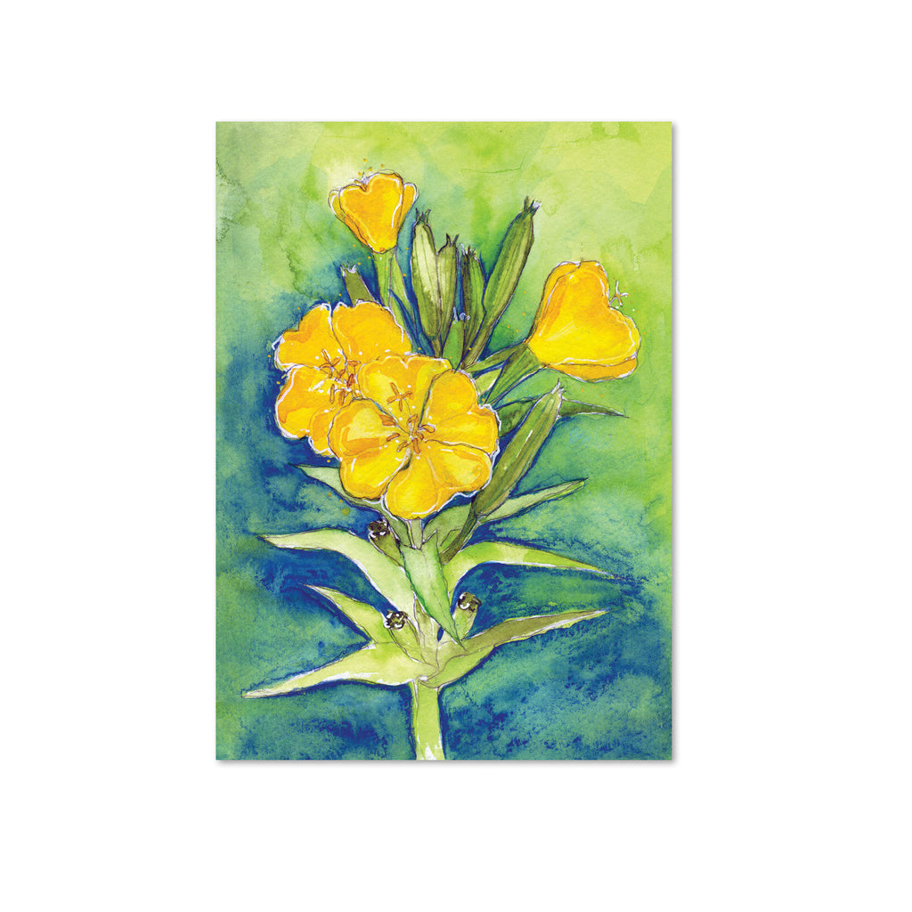 Evening Primrose (Rebirth) Original Painting