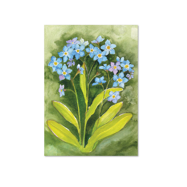 Forget-Me-Not (Awareness) Original Painting
