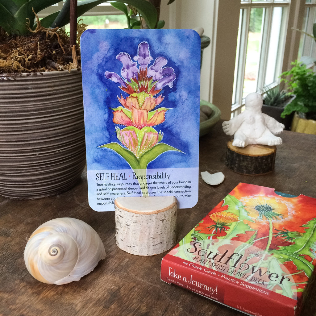 Soulflower Rustic Card Stand