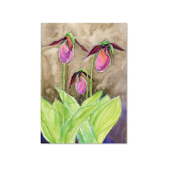 Lady's Slipper (Connection) Original Painting