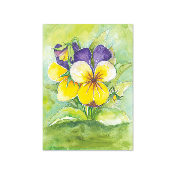 Pansy Original Painting
