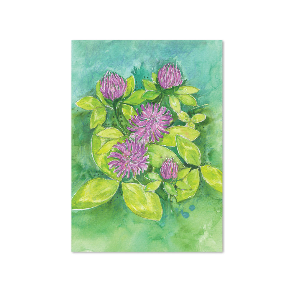 Red Clover (Tranquility) Original Painting