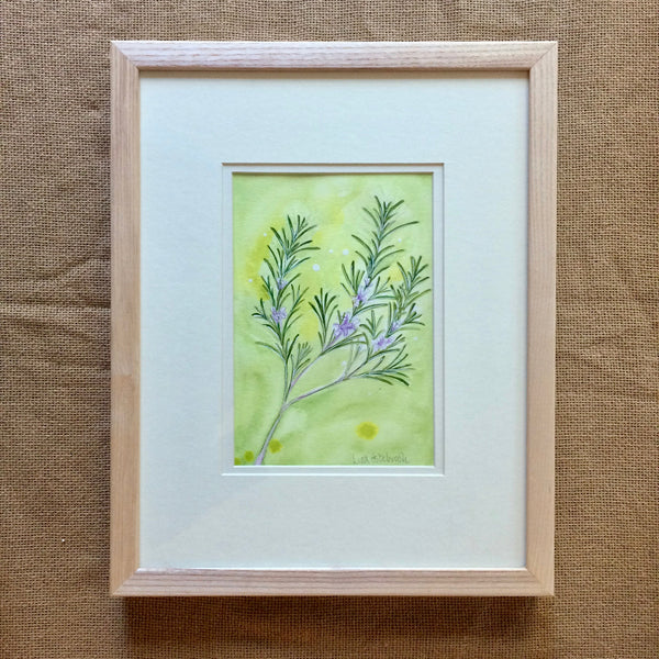Rosemary Original Painting