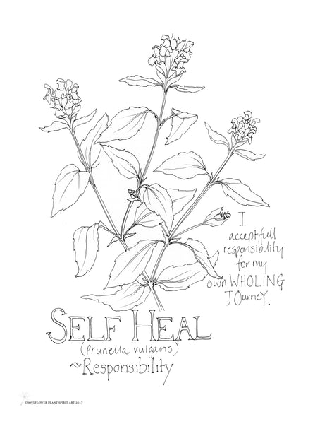 Self Heal (Responsibility) Coloring Page