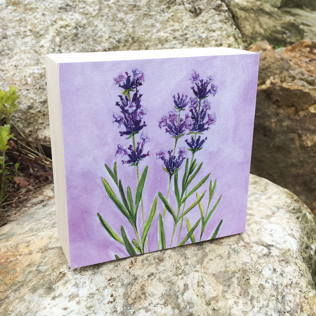 Lavender (Restoration) Mounted Print
