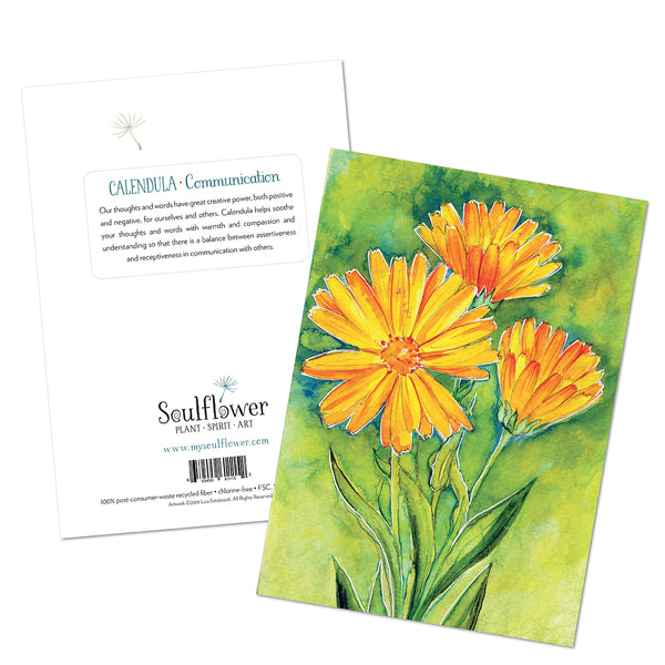 Calendula (Communication) Card