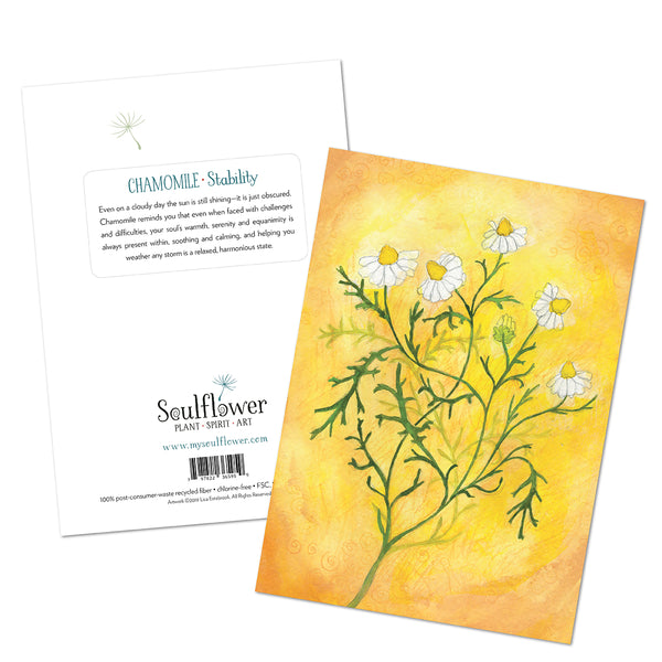 Chamomile (Stability) Card