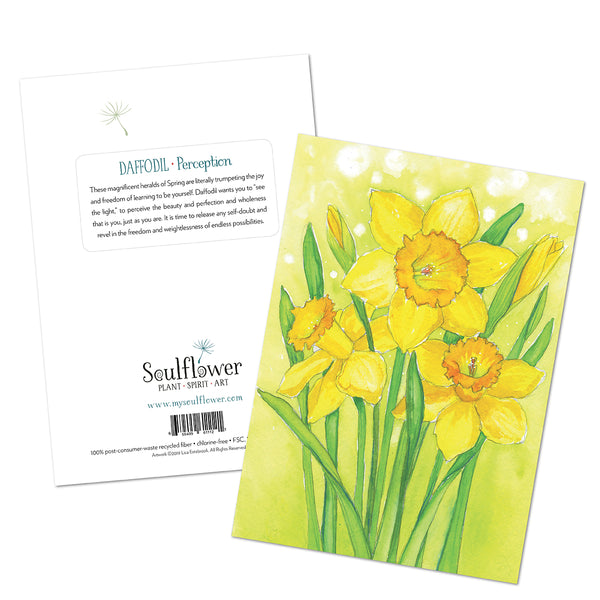 Daffodil (Perception) Card