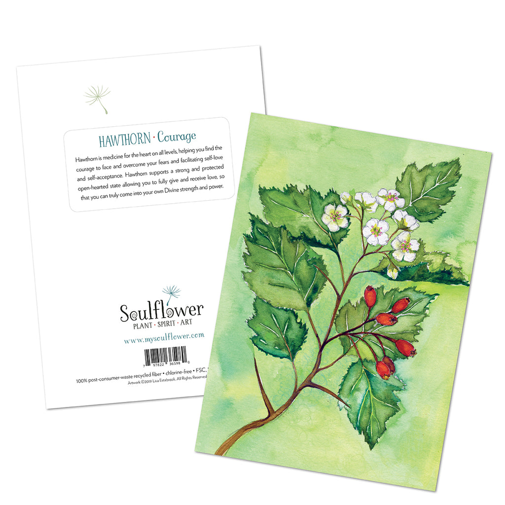 Hawthorn (Courage) Card
