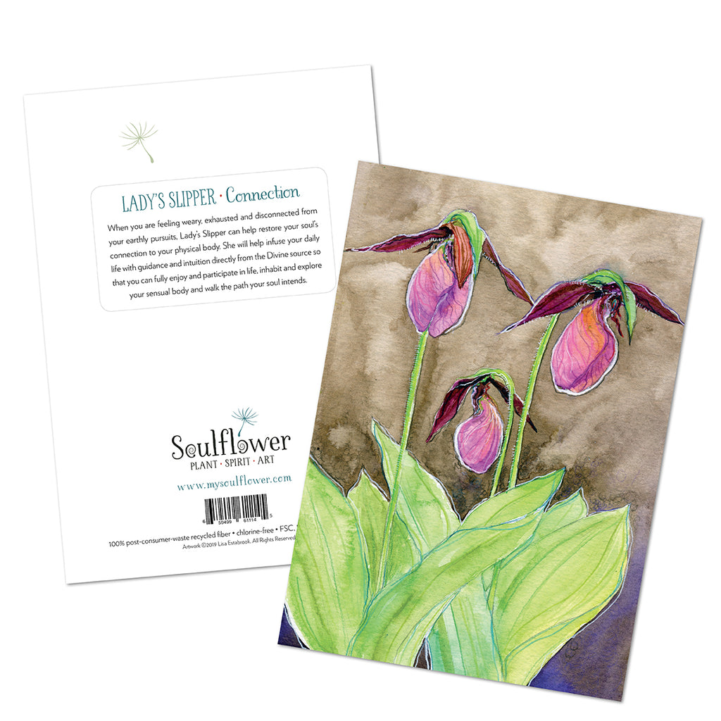 Lady's Slipper (Connection) Card