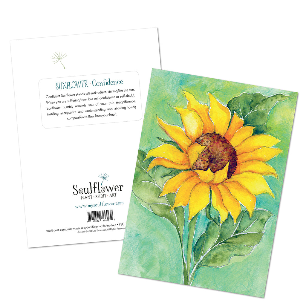 Sunflower (Confidence) Card