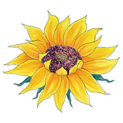 sunflower confidence temporary tattoo my soulflower ForSunflower Temporary Tattoo
