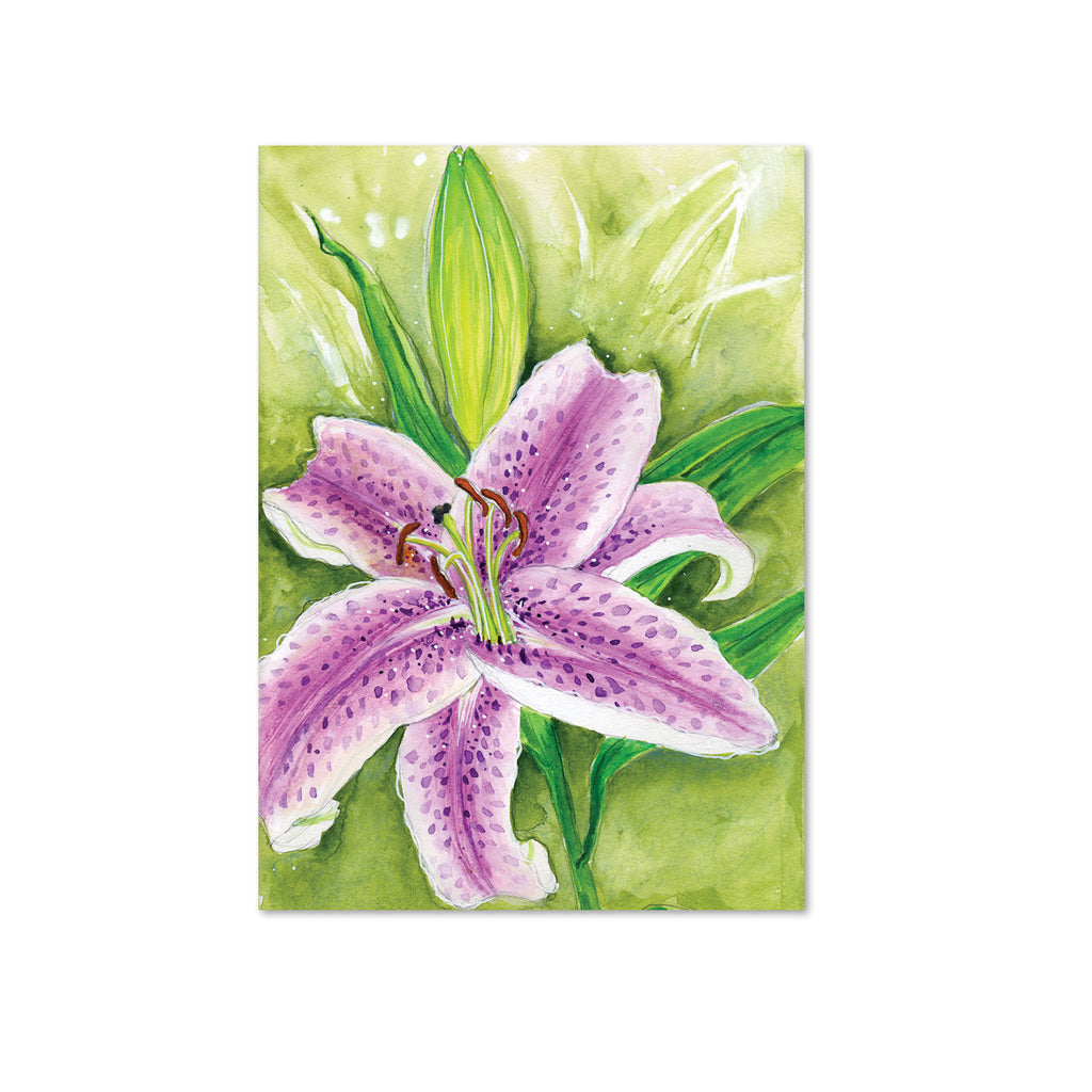 Stargazer Lily (Surrender) Original Painting