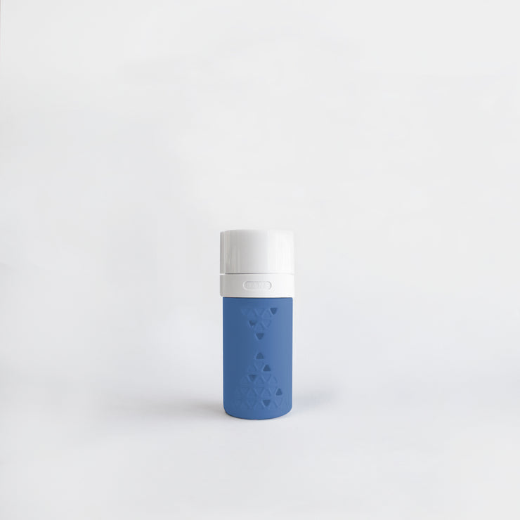 SANS Original 8oz Glass Bottle in Berry Blue