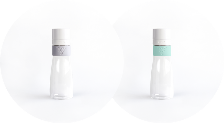 Buy more, save more! 1 - 32oz. XL Carafe in Mint Green & 1 32oz. XL Carafe in Glacier Gray